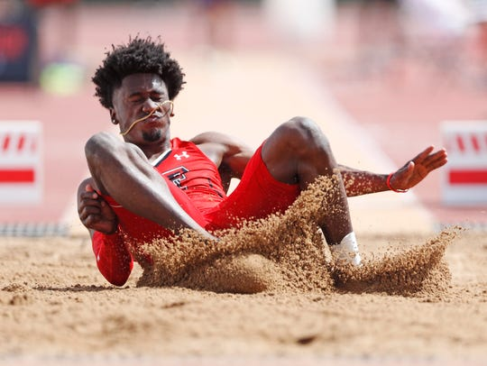 Texas Tech's Charles Brown looks to win a medal Wednesday