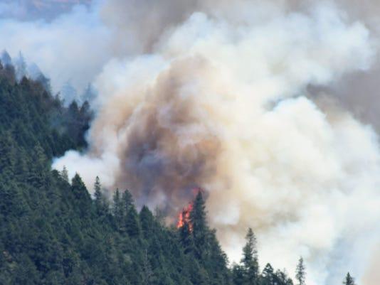 The South Umpqua Complex Fire