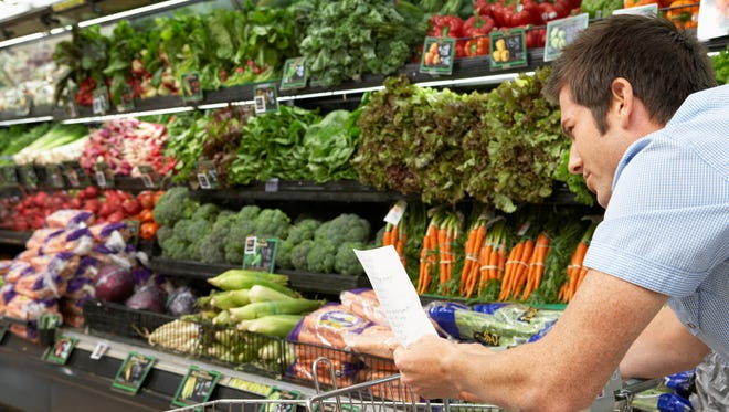 making a list can help you save money at the grocery store.