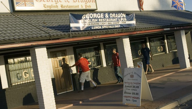 """Phoenix neighborhood favorite George and Dragon Pub will reopen at 8:30 p.m. Saturday, Jan. 23, 2016, after getting a makeover from """"Bar Rescue."""""""
