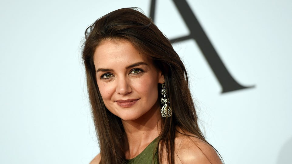 "Katie Holmes portrays a poet in ""Touched With Fire."""