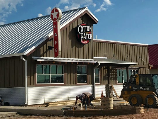 The Cotton Patch Cafe is set to open in San Angelo
