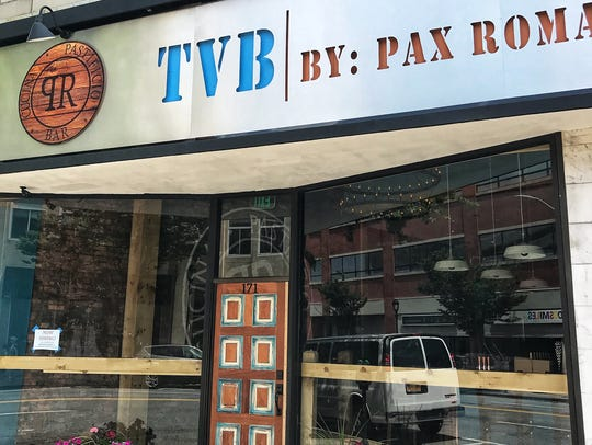 The exterior of the new TVB By: Pax Romana on E. Post