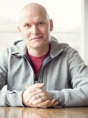 Author Anthony Doerr.