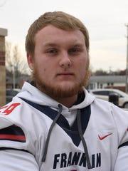 Franklin High School lineman Zach Zella.