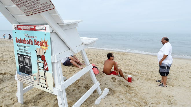 In June, high bacteria levels off Rehoboth Avenue prompted city officials to post swimming advisory signs. A retest the following day cleared the area for swimming.