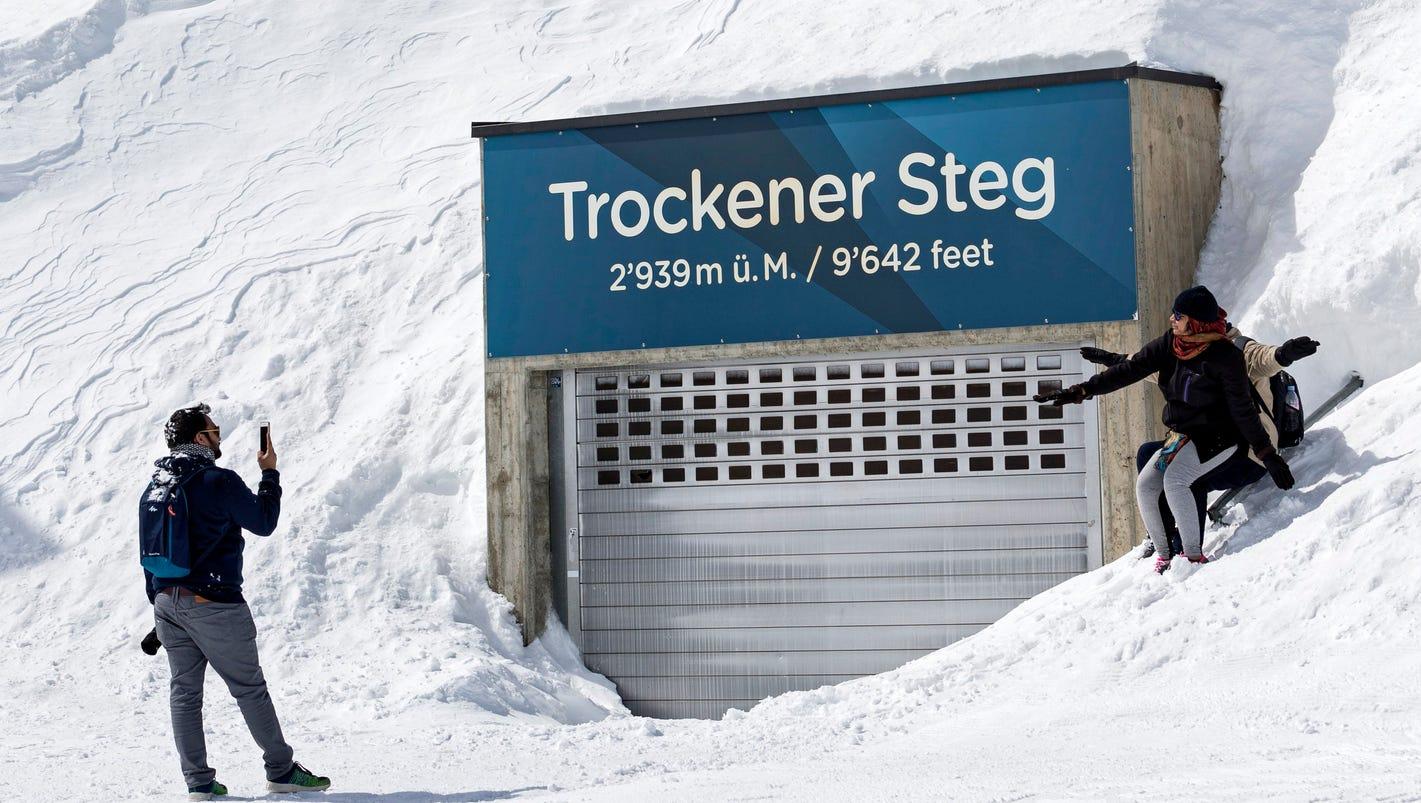 German billionaire goes missing on skiing trip in Swiss Alps