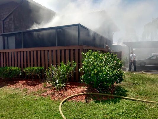 Fire in Port St. Lucie