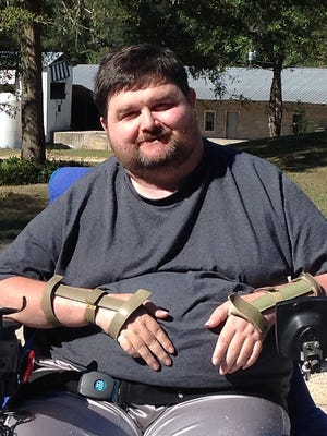 Edward Runnels' 2010 tree stand fall left him paralyzed from the neck down.