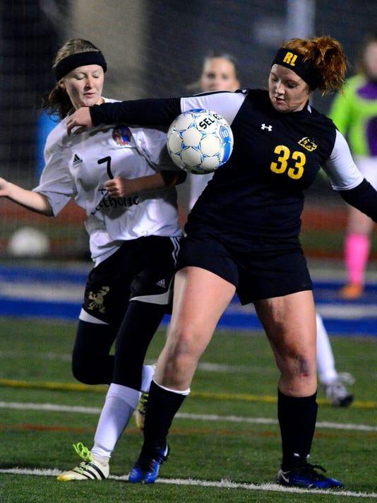 YAIAA girls' senior all-star soccer game