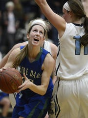 Allie LeClaire won two WIAA state titles while at Notre