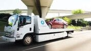 Carvana delivers the majority of its vehicles through traditional means.