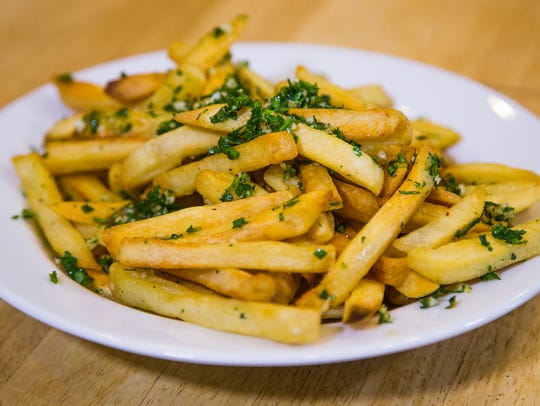 Garlic Fries.