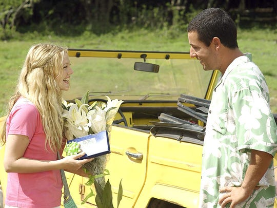 """Drew Barrymore and Adam Sandler star in Columbia Pictures romantic comedy """"50 First Dates."""""""