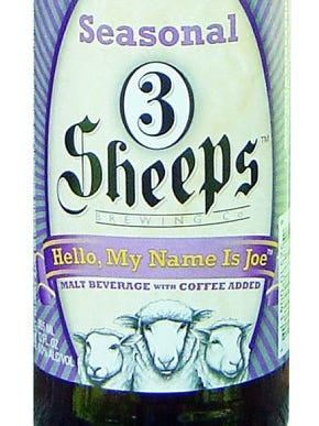 Hello, My Name is Joe from 3 Sheeps Brewing Co. in Sheboygan, Wis., is 8% ABV.