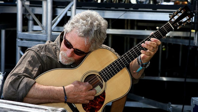 Chris Hillman at California's  Stagecoach Music Festival in 2007.