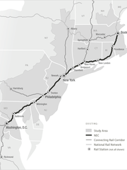 The Federal Railroad Administration examined rail upgrades for the Northeast Corridor between Boston and Washington, D.C., In December, agency officials published a list of recommended projects, which includes a new passenger rail line that would give Delawareans a direct line to the Philadelphia airport.