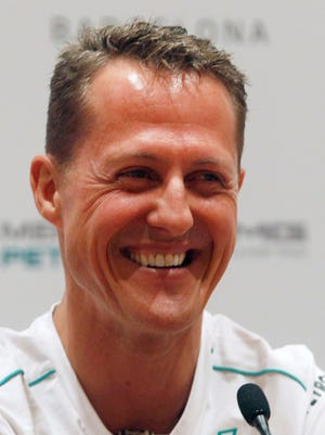 Formula One legend Michael Schumacher has been in a coma since Dec. 29 after a skiing accident.