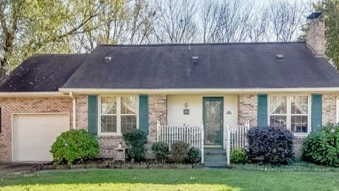 This three-bedroom Franklin home is in the Idlewood subdivision. The home is priced below appraisal and is being sold as-is.