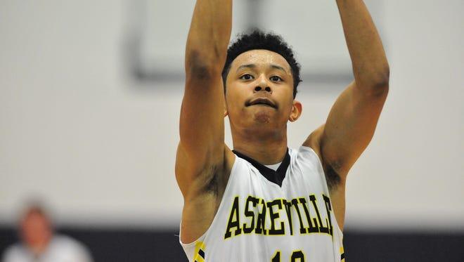 Asheville Christian Academy senior Jordan Shepherd signed with Okalahoma's basketball program earlier this week.