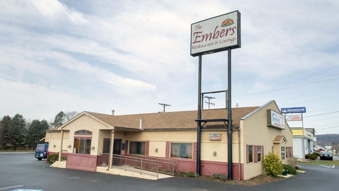The Embers Steakhouse in Springettsbury Township closed on Feb. 26.