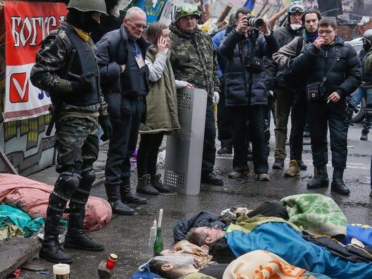 EPA UKRAINE UNREST