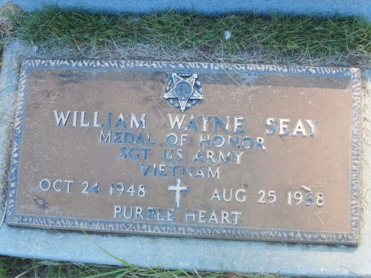 William Seay/s grave in Brewton, Ala.