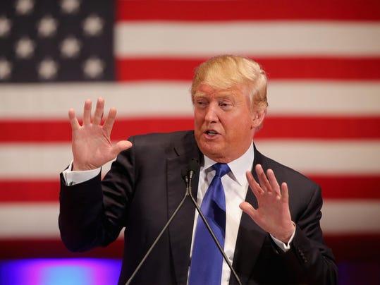 BESTPIX - Donald Trump Holds Event To Benefit Veterans On Night Of GOP Debate