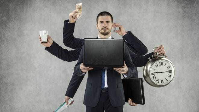 Increase your productivity by delegating, tackling unpleasant tasks first and saying no.