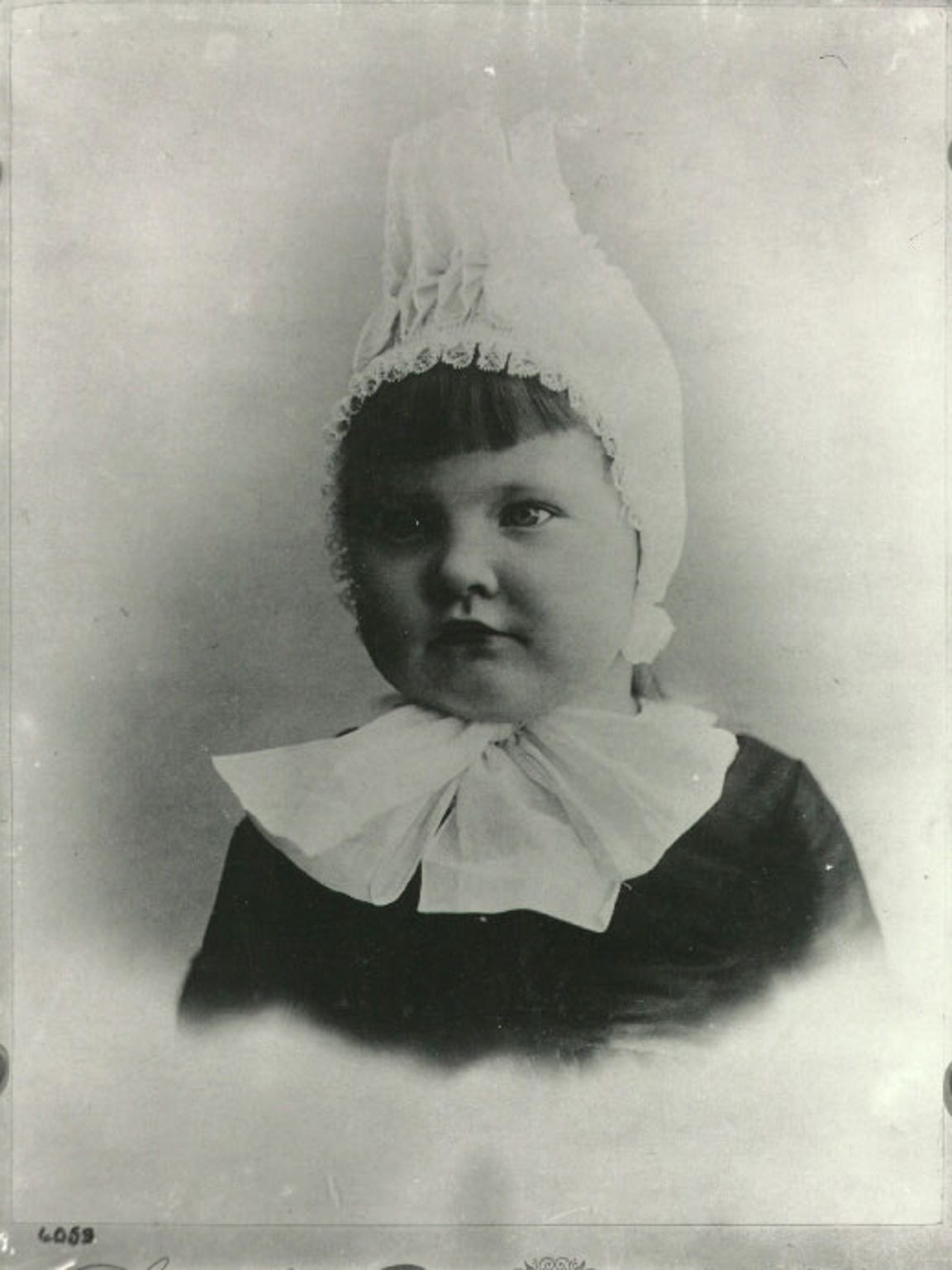Marjorie Merriweather Post as a young child.