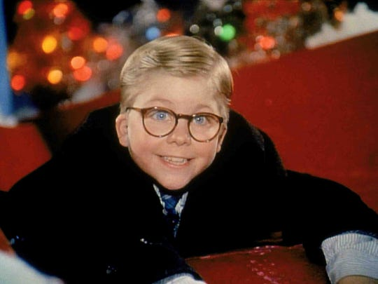 "In ""A Christmas Story,"" all Ralphie wants for Christmas is a Red Ryder BB gun."