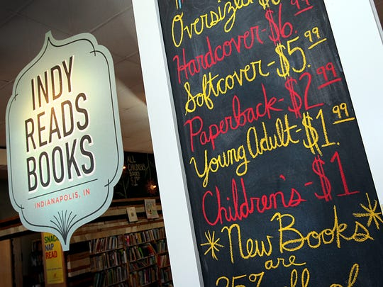 Indy Reads Books, 911 Massachusetts Ave., raises money for literacy efforts in Indianapolis.