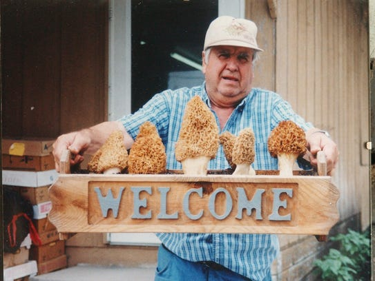 Bud Clark of Bud's Bait and Tackle shop in Ninveh,