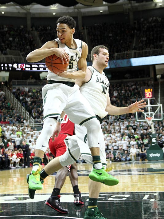 NCAA Basketball: Wisconsin at Michigan State