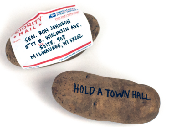 Cards Against Humanity has started a potato campaign against Sen. Ron Johnson