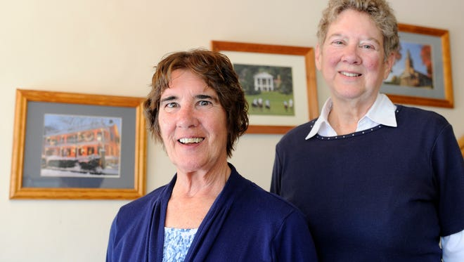 After decades of service in the village office, sisters Bobbi Stover and Susan Hand will retire together.
