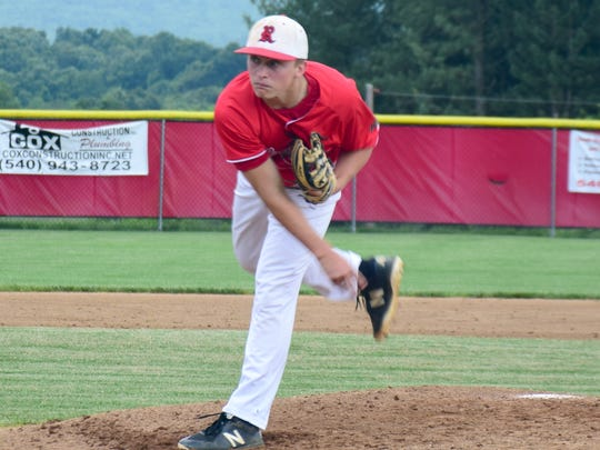 Riverheads sophomore pitcher Elijah Dunlap, was named to the first team of the VHSL Class 1 All-State Baseball Team on Tuesday. Dunlap pitched a complete-game seven-hitter in Riverheads 13-1 victory over Honaker in the VHSL Class 1 state championship game on Saturday.