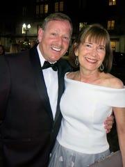 Former Shreveporters Dr. Bob and Jenny Barish, of Chicago,