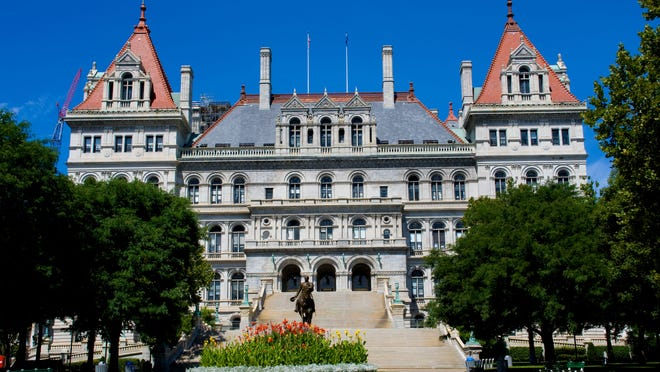 New York's state Capitol in Albany.
