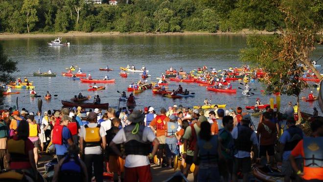 Oho River Paddlefest.