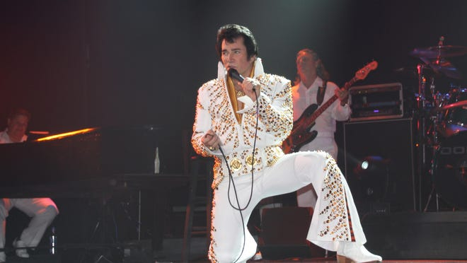 Jerry Presley, a second cousin of Elvis Presley, has performed a Branson tribute show to the King of Rock and Roll since 1985. On Sunday he'll commemorate the 38th anniversary of Elvis's death with a free charity show at Jim Stafford Theatre. Each guest who brings an item of non-perishable food gets free admission.