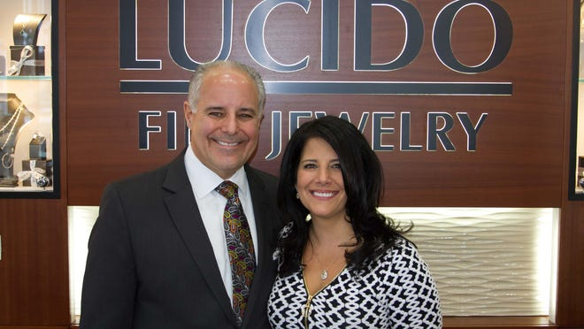 Siblings Vince and Fran Lucido run the Lucido Fine Jewelry store in downtown Birmingham.