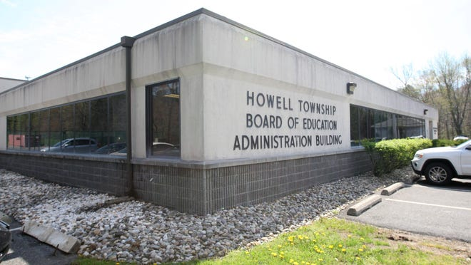 The Howell Board of Education building at 200 Squankum Yellowbrook Road.
