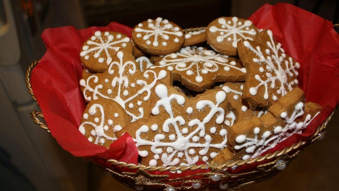 Homemade gingerbread cookies with royal icing are a bit of work, but they make a wonderful holiday gift.