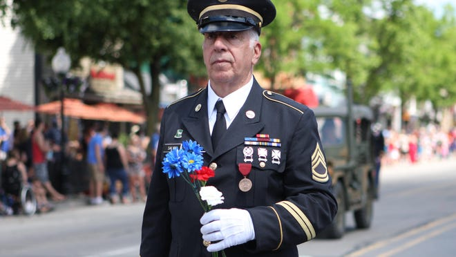 Huron Valley AMVETS Post 2006 Commander Joe Salvia said this year's Memorial Day parade will be heavy on music and symbolism.