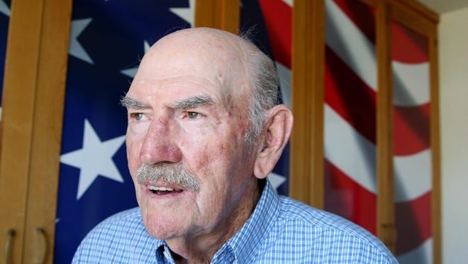 Chalmer Raymer of San Juan Bautista served in the U.S. Navy during WWII.
