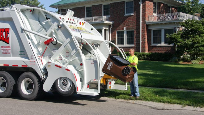Rumpke drivers are trained to pay attention to what goes from your trash container into their trucks, according to Rumpke officials.