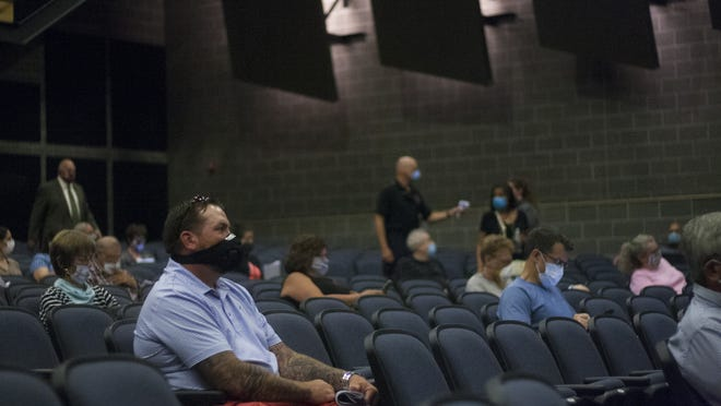 Eighty voters showed up to the auditorium in the Rockland High School for the annual and special town meetings on June 22.
