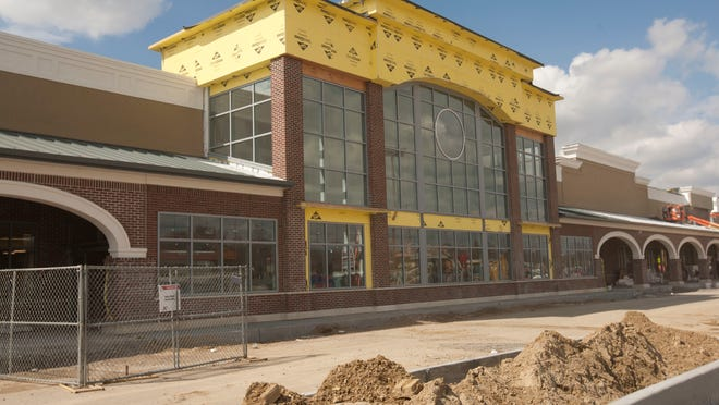 The new ShopRite under construction in Friendship Plaza on Route 9 in Howell.