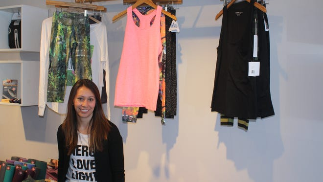 "Alison Keating has opened Barefoot, a Spring Lake boutique that sells ""athleisure"" clothing."